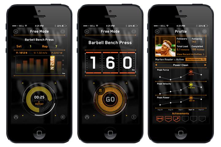 приложение фитнес-трекер