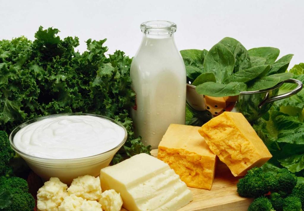 Богатая кальцием диета помогает быстро похудеть — медики.