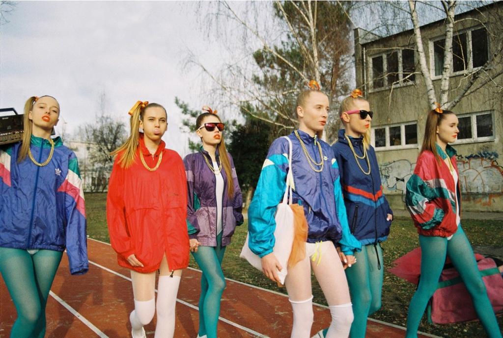 Одежда девушек 80 х фото