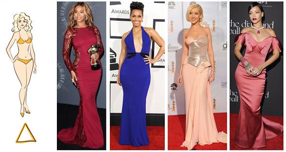 Какие платья подходят тип фигуры прямоугольник